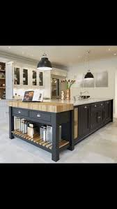 Kitchen Islands On Pinterest A Lovely Big Island By Devol With Oak Worktops To Match Our