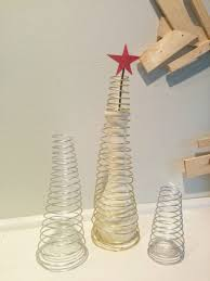 wire christmas trees a modern take on holiday decor