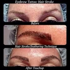eyebrow tattoo feathering hair stroke http www