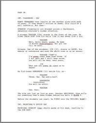 Resume Formula The Godfather Sample Script Page Writing Basics Film Online