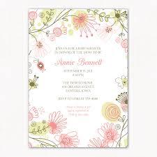 baby girl invitations literarywondrous baby girl shower invitation wording size of