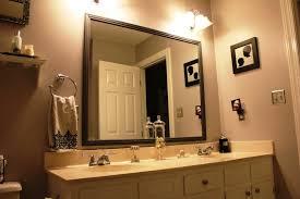 bathroom mirror trim ideas bathroom mirror trim home design ideas