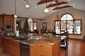 Kitchen Great Room Designs by Ranch Home