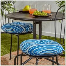 Turquoise Bistro Chair 15 Inch Round Outdoor Bistro Chair Cushions Chairs Home