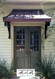 Awning Over Front Door Glass Canopy Front Door Ideas Awning Metal Awnings Doors Dome