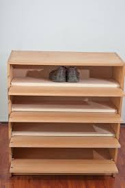 How To Build Shelves In Closet by How To Make A Shoe Rack Howtospecialist How To Build Step By