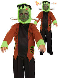 Kids Monster Halloween Costumes by Girls Boys Frankenstein Monster Halloween Party Book Day Fancy