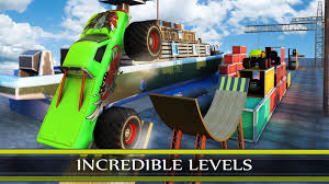videos of monster trucks racing extreme monster truck racing stunts games android apps on google