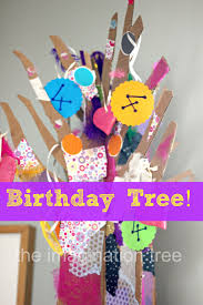 our birthday tree tradition the imagination tree