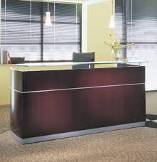 Buy Reception Desk by Mayline Furniture Nrs Mayline Napoli Reception Desk