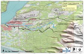 Girdwood Alaska Map by Watershed Maps Anchorage Park Foundation
