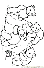 teddy bear coloring 001 7 coloring free