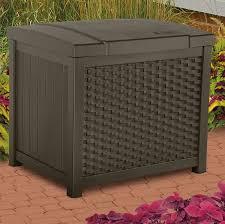 suncast 22 gallon resin deck box u0026 reviews wayfair
