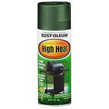 shop rust oleum specialty high heat green enamel spray paint