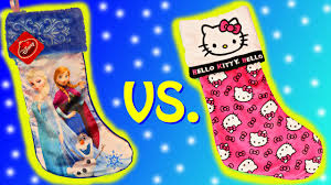 Hello Kitty Christmas Lights by Christmas Stocking Surprise Toys With Disney Frozen Elsa Anna And
