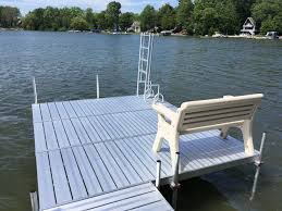dock pier stairways dock and pontoon swim ladders dock benches