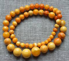 natural amber necklace images Antique natural round beads baltic amber necklace 50 jpg