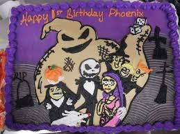 nightmare before birthday cake by nickolaswand on deviantart
