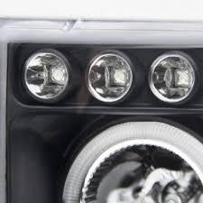 2001 dodge ram headlights dodge ram 1994 2001 black vertical grille halo projector