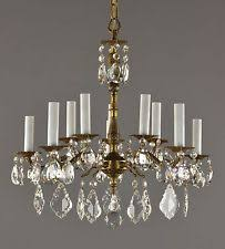 Vintage Crystal Chandeliers Antique Chandeliers Fixtures And Sconces