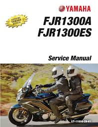 yamaha fjr1300 2016 2017 workshop repair service manual