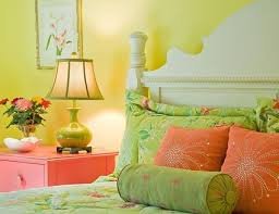 pink and green room how to decorate a pink bedroom