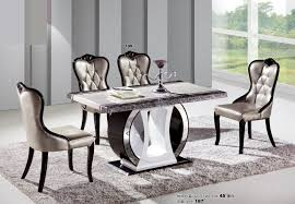 white marble top dining table set fashion modern dining room table marble top tables in incredible