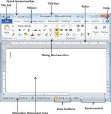 Resume On Microsoft Word 2010 Explore Window In Word 2010