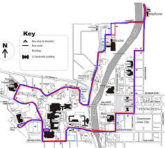 The Deuce Las Vegas Route Map by University Of Iowa Parking Map My Blog
