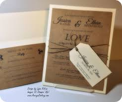 Simple Wedding Invitations Clean And Simple Wedding Invitation To Kick Off 2015 Stamping