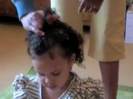 18 month girl haircut styling mixed race curly kids hair with original sprout youtube