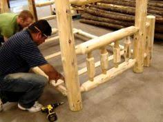 Log Bunk Bed Plans Log Bed Frame Plans How To Build A Log Bed A Log Bed Is A Bed