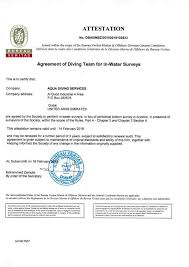 logo bureau veritas certification aqua diving services certification