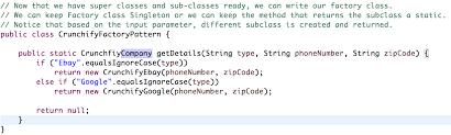 pattern design java java factory design method pattern object oriented design