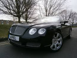 bentley black convertible used black bentley continental gtc for sale suffolk