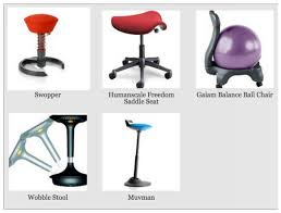 furniture ergonomic standing desk chair and kneeling stool the
