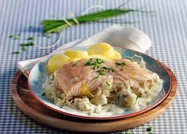 cuisiner la choucroute choucroute au saumon