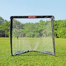 net playz easy fold up portable fold up lacrosse goal backyard net