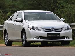 Toyota Camry Official Review Team Bhp