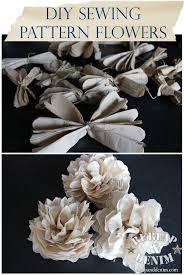 pattern making tissue paper tutorial tissue paper flowers from sewing patterns paper projects