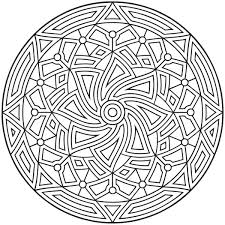 coloring pages kids printable geometric coloring pages printing