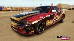 pizza mustang igcd ford mustang in forza horizon