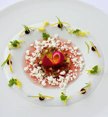 cuisine comme un chef the plating of the border is lovely chef steven greene l de