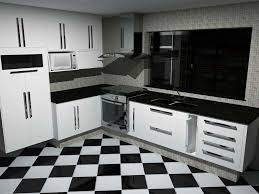 white kitchen cabinets black tile floor 10 best black and white tile design ideas projects and usage