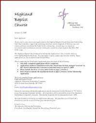Cover Letter Sample For Scholarship Application by 15 Cover Letter Sample For Scholarship Sendletters Info