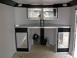 v nose trailer cabinets v nose enclosed trailer cabinets penaime