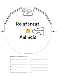 rainforest classroom activities enchanted learning software
