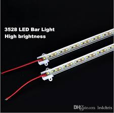 kitchen led light bar super bright 50cm 3528 rigid strip led bar light kitchen led light