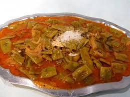 comment cuisiner les haricots plats haricots plats à la vénitienne recette légumes supertoinette