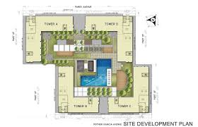 plan floor m place south triangle sm residences and condominiums